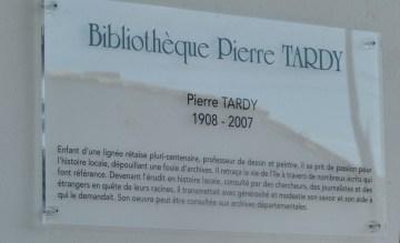 Les Portes-en Ré - Bibliothèque Pierre Tardy