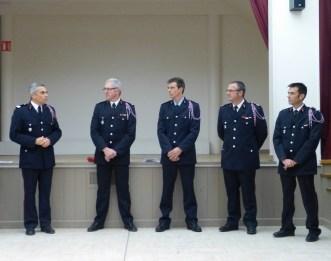 Colonel Legras, Lieutenant Greiller, Adjudant Dardilllac, Colonel Gervais, Lieutenant Morin