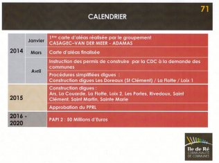PPRL - Calendrier CDC