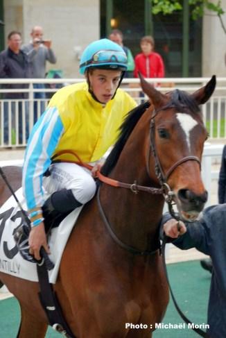 Damien Morin - 1ère course - 6 mai 2014