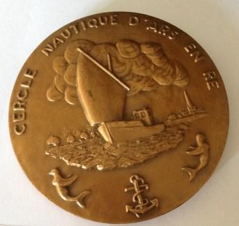 Médaille du CNAR, Cercle Nautique d'Ars-en-Ré