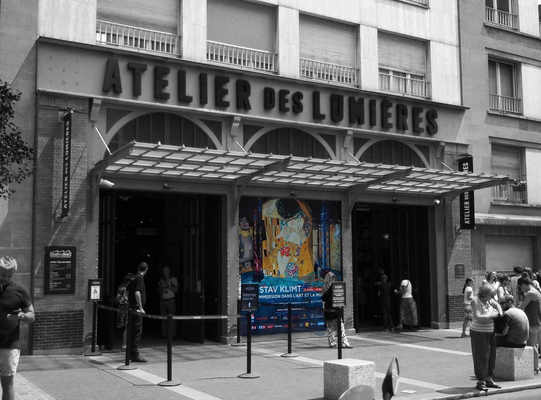 Ausstellung: Atelier des Lumières