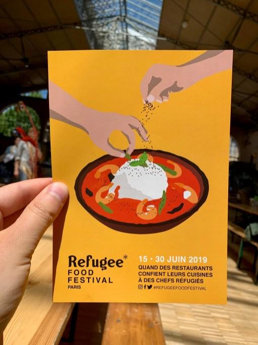 Refugee food festival 2019