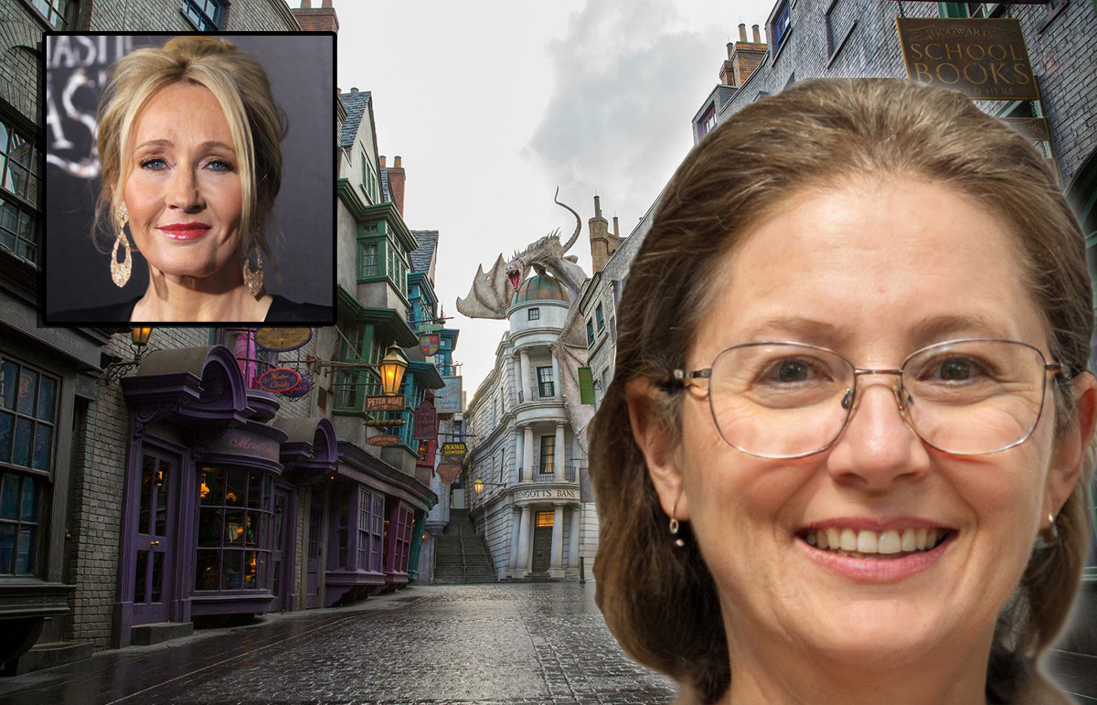 "Local Witch Casts ""ShutTheFuckUpicus Totallus"" Curse on JK Rowling"