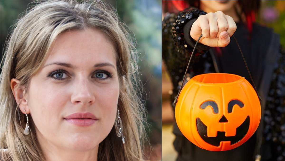 Mother Checks Purse for Drugs Before Taking Her Kids Trick or Treating