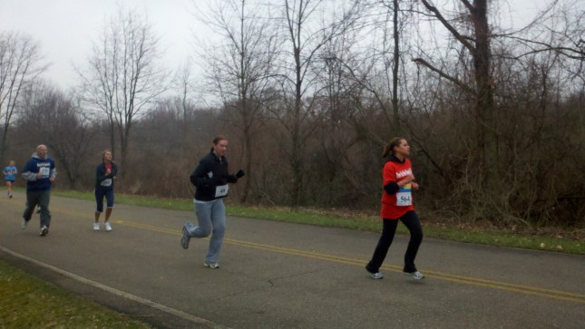 Tanya running