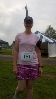 Tanya Ready to Run!