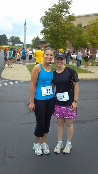 Lauren & Tanya Before