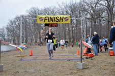 Tanya finish line