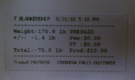 75 pounds!!!