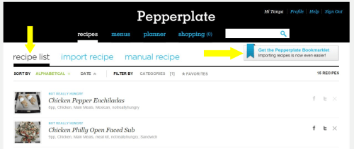 Pepperplate Bookmarklet 1