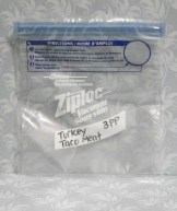 Label freezer bags