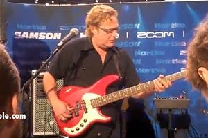 Live from NAMM: Stu Hamm at Hartke