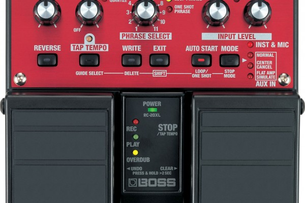 Gear Review: Boss RC-20XL Loop Station