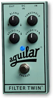 Gear Watch: Aguilar Amplification Announces Filter Twin