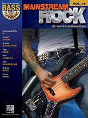 Mainstream Rock: Bass Play-Along Volume 15