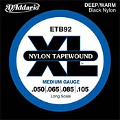 Gear Watch: D'Addario Nylon Tapewound Bass Strings