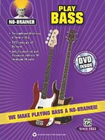 "Alfred Releases ""No Brainer: Play Bass"" Instructional Book"