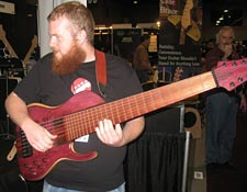 Prat 8 String Bass (Summer NAMM 2010)