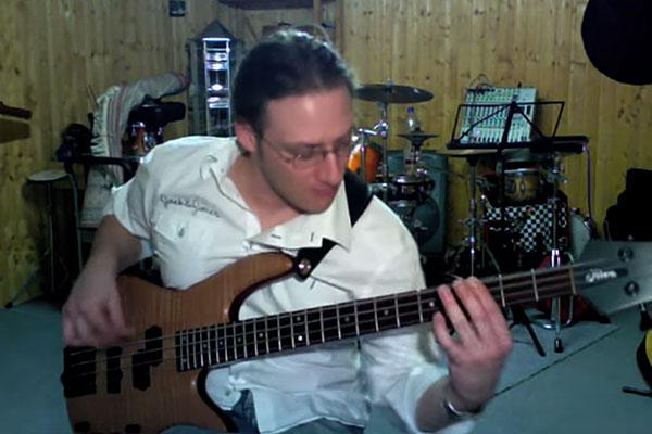 """Daniel Ziegler: All Bass Version of """"Little Wing"""""""