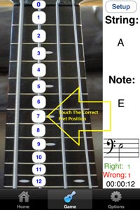 Bass Fretboard Addict App - fig 2