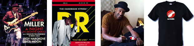 Marcus Miller Contest Giveaway