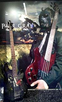 Paul Gray Tribute Bass