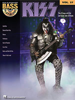 Hal Leonard Releases KISS Bass Play-Along