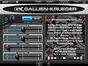 PocketLabworks Releases PocketGK Bass Guitar Amp iOS App