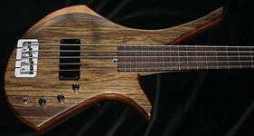 AC Guitars Graft Series Handmade Bass Gallas