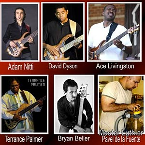 BassBreak Live! 2011 to Feature Adam Nitti, Ace Livingston, Bryan Beller, Terrance Palmer and David Dyson