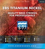 EBS Titanium Nickel strings