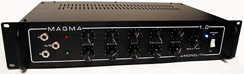 Monolith Loudspeakers MAGMA 1.0 Bass Preamp - front