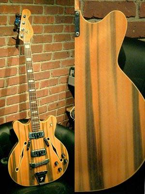 Fender Coronado Bass II - Wildwood