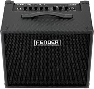 Fender Introduces Bronco 40 Bass Amp