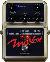 Maxon RTC600 Real Tube Compressor Pedal
