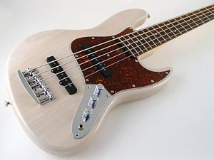 M Basses Transparent White Mj5