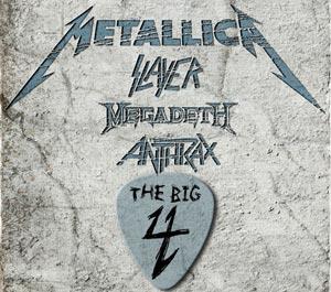 The Big 4: Metallica, Megadeth, Slayer and Anthrax