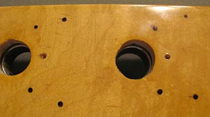 Upgrading Your Tuners: Pilot Holes