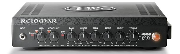 EBS Unveils Reidmar 250 Bass Amp and Session 120 Combo