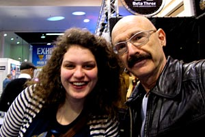 Julie Slick and Tony Levin