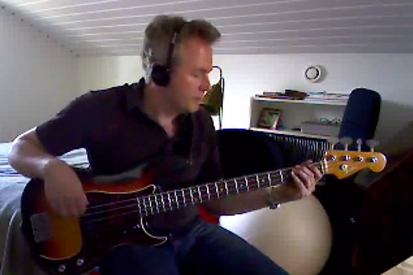 "Bass Play-Along Week: Fredrik Owman's Steely Dan ""Peg"" Bass Play-Along"
