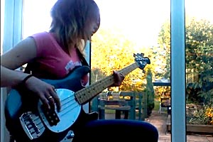 """Bass Play-Along Week: CharGuitarGirl's """"Girls & Boys"""" by The Subways"""