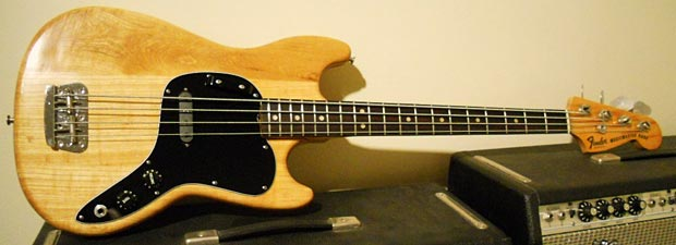 1978 Fender Musicmaster Bass - full view