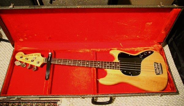 1978 Fender Musicmaster Bass in Case