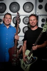 Mike Lull and Jeff Ament