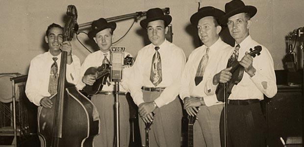 Jody Rainwater with the Foggy Mountain Boys