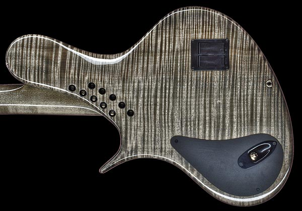 Ritter Instruments R8 Singlecut Bass - Back