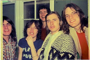AC/DC early band shot