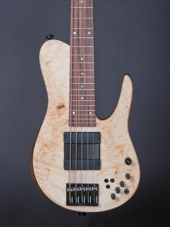 Fodera Matt Garrison Standard Bass - body